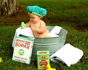 El baño del bebé