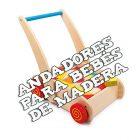 Andadores de madera para bebé