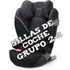 Las mejores sillas de coche grupo 2 3